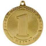 Медаль Места - Звезда / Металл / Золото