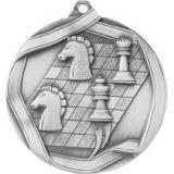Медаль Шахматы / Металл / Серебро