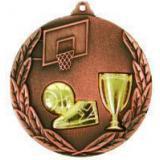 Медаль Баскетбол - Кубок / Металл / Бронза