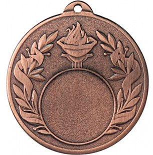 Медаль Универсальная - Факел / Металл / Бронза 02-0186-3