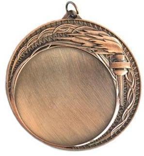 Медаль Универсальная - Факел / Металл / Бронза 02-0254-3