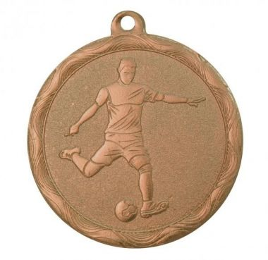 Медаль Футбол / Металл / Бронза 02-1276-3