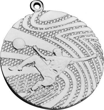 Медаль Футбол / Металл / Серебро 02-0113-2