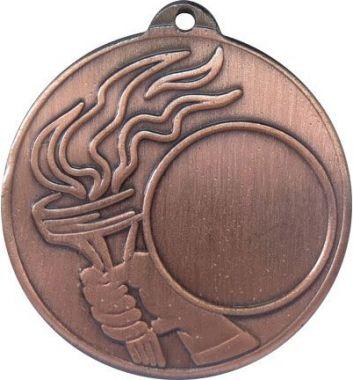 Медаль Универсальная - Факел / Металл / Бронза 02-0189-3
