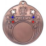 Медаль Универсальная - Звезда - Триколор / Металл / Бронза