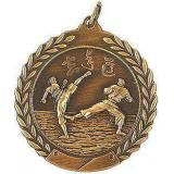 Медаль Каратэ / Металл / Золото