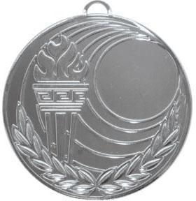 Медаль Универсальная - Факел / Металл / Серебро 02-0306-2