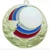 Медаль Универсальная - Кубок - Триколор / Металл / Серебро