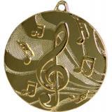 Медаль Музыка / Металл / Золото
