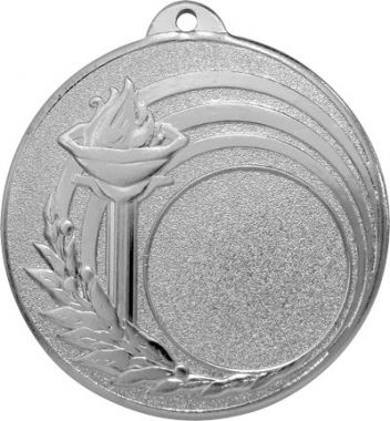 Медаль Универсальная - Факел / Металл / Серебро 02-0184-2