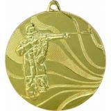Медаль Стрельба / Металл / Золото