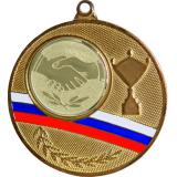 Медаль Универсальная - Кубок - Триколор / Металл / Золото
