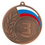 Медаль Места - Триколор / Металл / Бронза