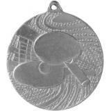 Медаль Теннис настольный / Металл / Серебро