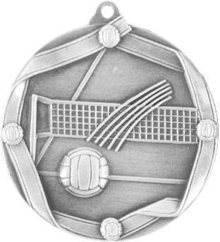 Медаль Волейбол / Металл / Серебро 02-0221-4
