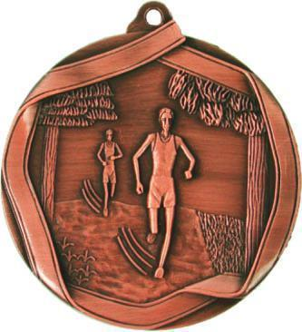 Медаль Бег / Металл / Бронза 02-0223-4