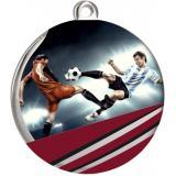 Медаль Футбол / Металл / Серебро