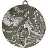 Медаль Музыка / Металл / Серебро