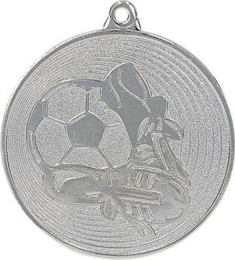 Медаль Футбол / Металл / Серебро 02-0170-2
